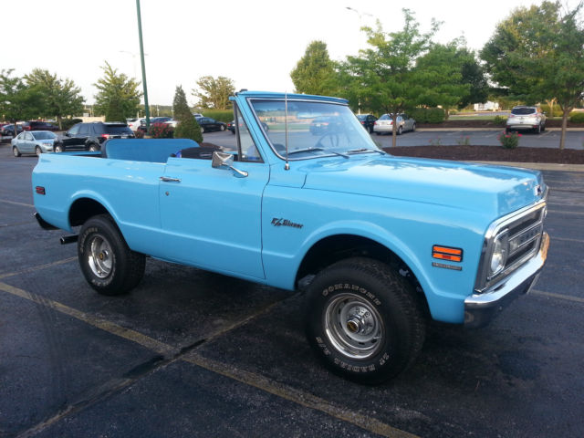 1969 chevrolet k5 blazer restored convertible very rare 1st year blazer was made classic Wires Needed for V8 S10 S10 V8 Wiring Harness