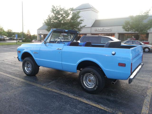 1969 Chevrolet K5 Blazer Restored Convertible Very Rare