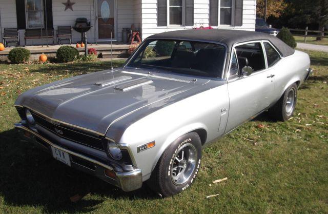 1969 Chevrolet L78 Nova SS 396 - Classic Chevrolet Nova ...