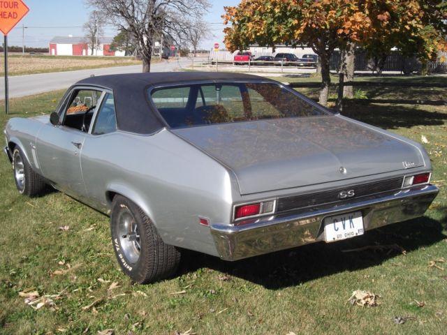 1969 Chevrolet L78 Nova Ss 396 Classic Chevrolet Nova