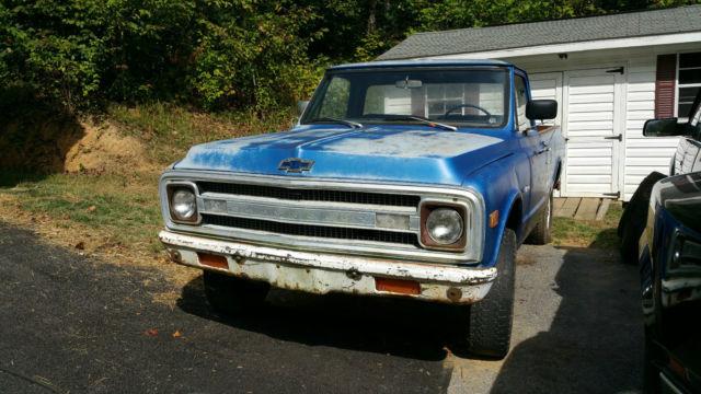 1969 Chevrolet not GMC, C20 not c10, 3/4 ton 4x4 not 2 wheel, long