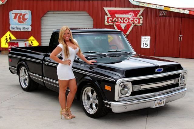 1969 Chevy C10 350 Ps Pdb Ac 700r 12 Bolt Air Condition