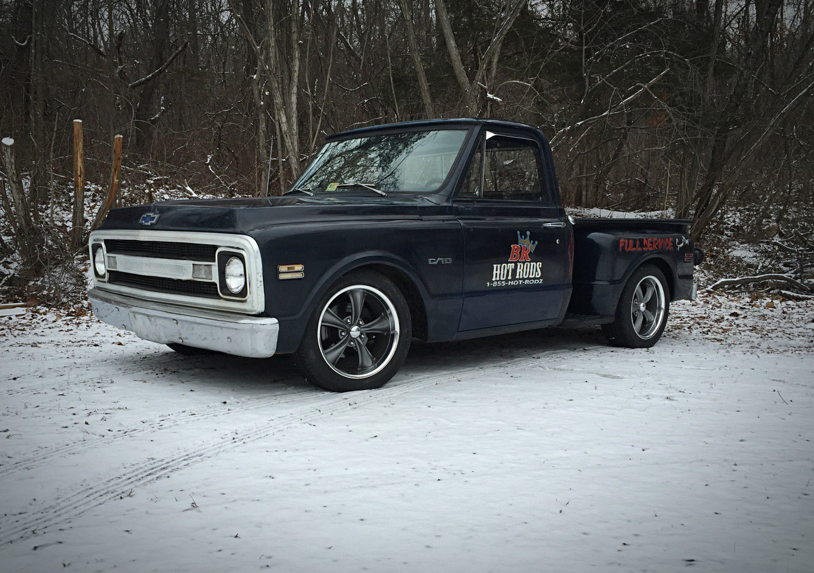 1969 Chevy C10 Short Bed Lowered Shop Truck With Pin Striping 1970 Ford Chevrolet C 10