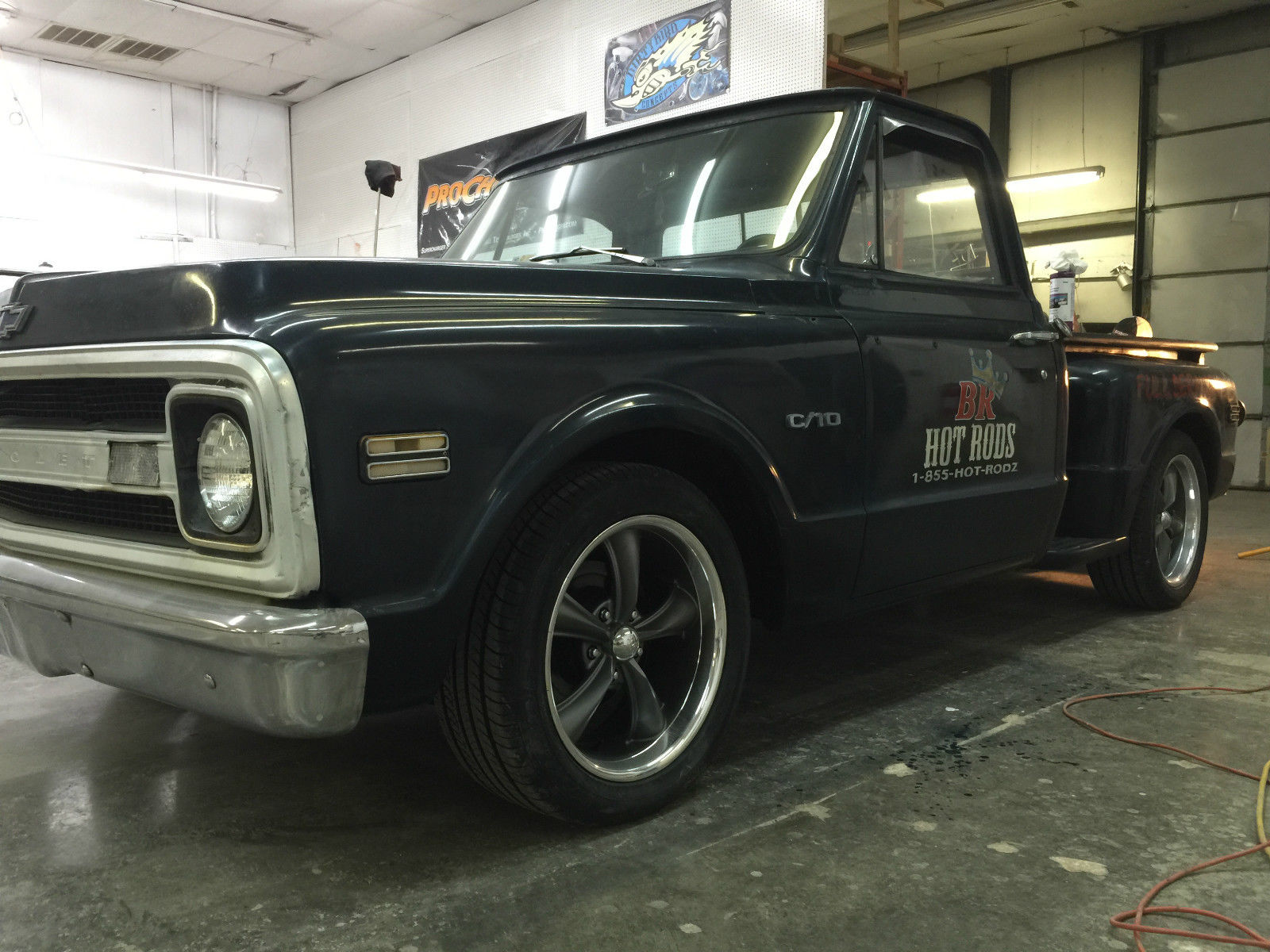 1969 Chevy C10 Short Bed Lowered Shop Truck With Pin