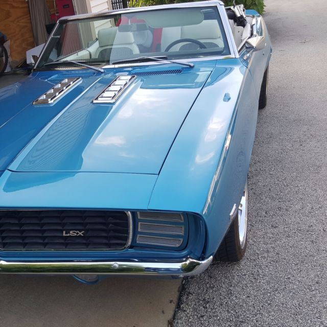 1969 Chevy Camaro Convertible ProTouring RS/SS LSX LS1