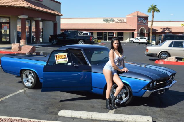 counts kustoms hot rod   classic chevrolet el camino 1969 for sale