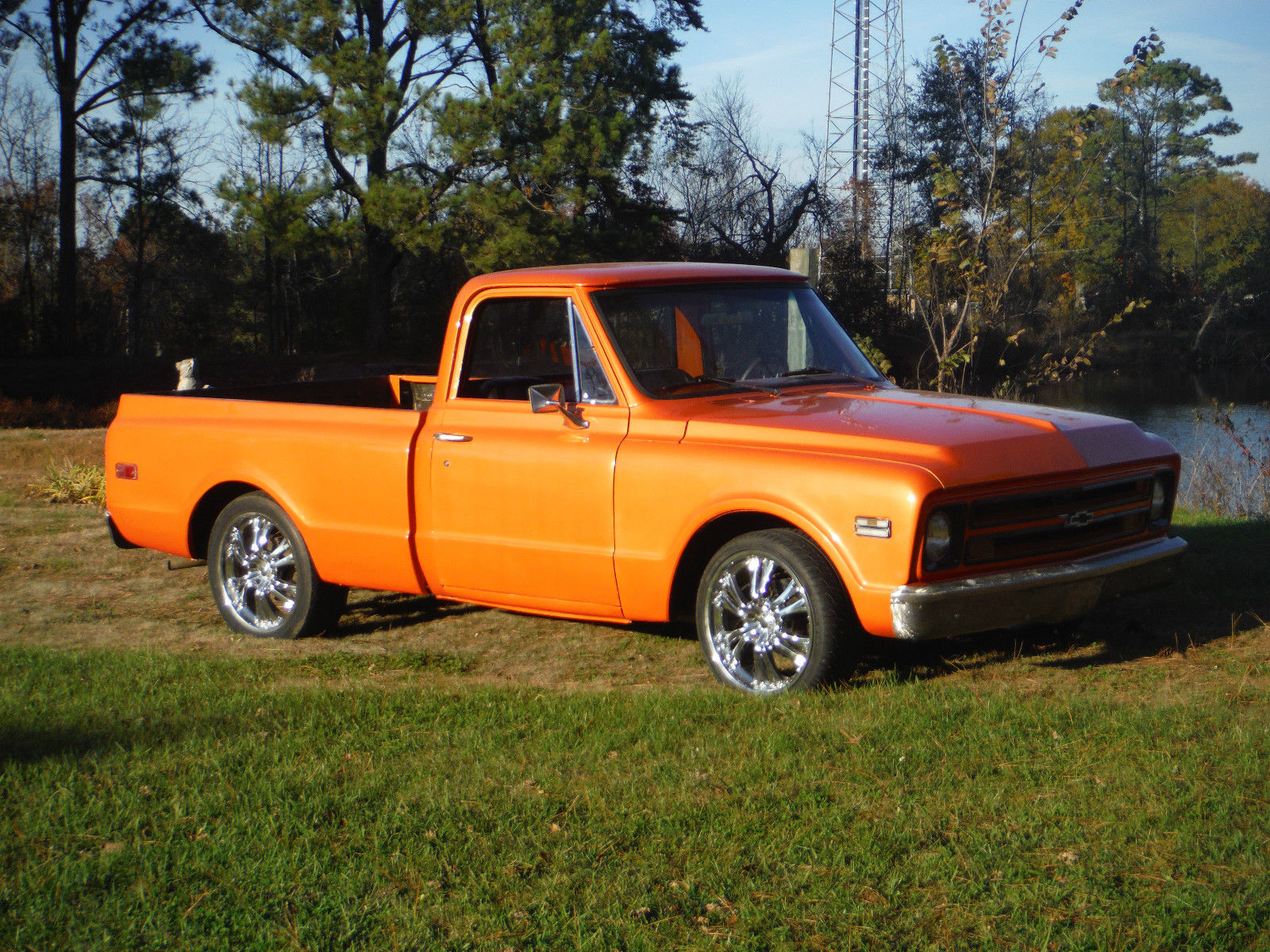 1969 chevy short bed truck classic chevrolet c 10 1969 for sale. Black Bedroom Furniture Sets. Home Design Ideas