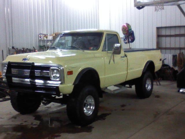 1969 chevy truck 4x4 lifted k20 custom 454 big block 3/4 ton