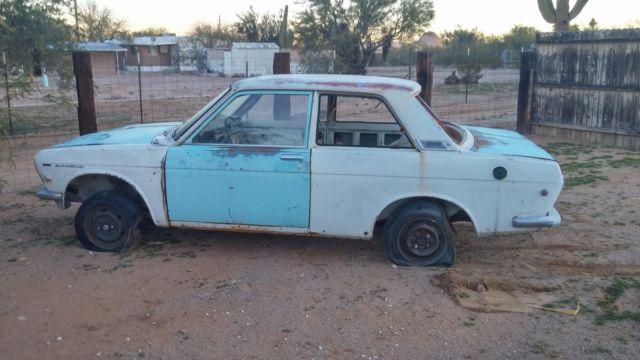 1969 Datsun 510 2 Door Bluebird Az Car Fairly Straight