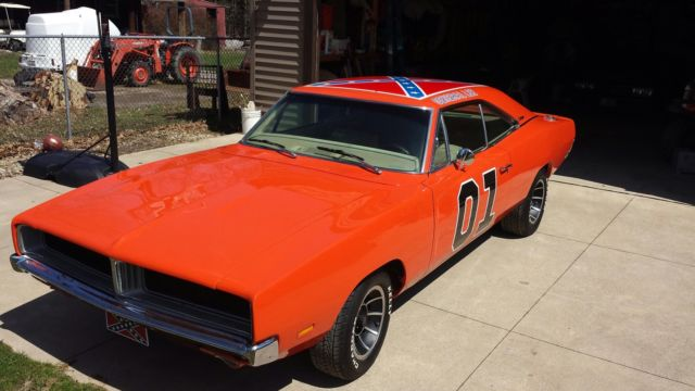 1969 Dodge Charger General Lee Dukes Of Hazzard 440 Magnum