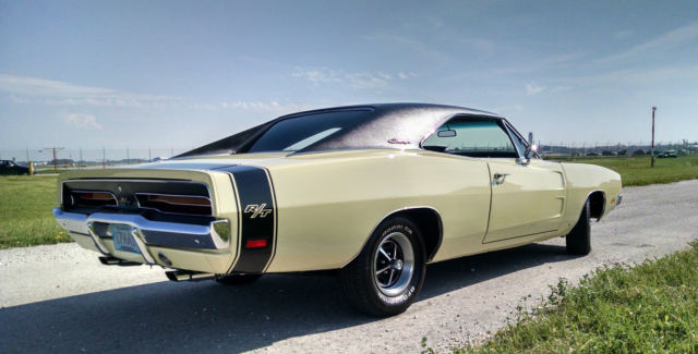 1969 Dodge Charger R/T 440 Magnum, #s Matching, Rare, Real ...