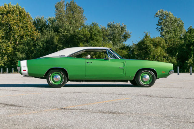 Dodge Charger Rt Hemi Numbers Matching Of Bright Green Metallic