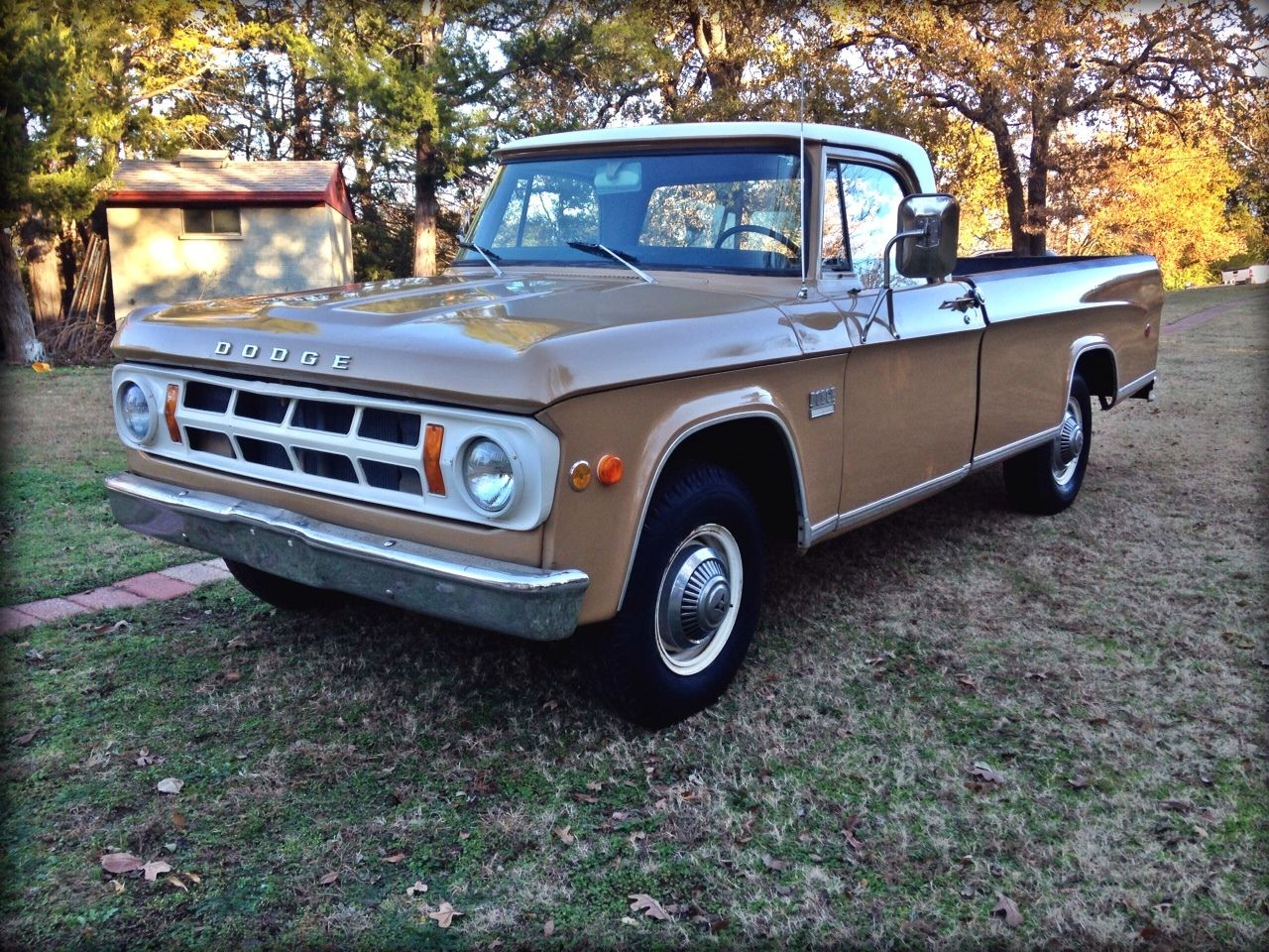 1969 Dodge D100 D200 Pick Up. Classic Mopar Pickup Truck. Low Miles 64,000! - Classic Dodge ...
