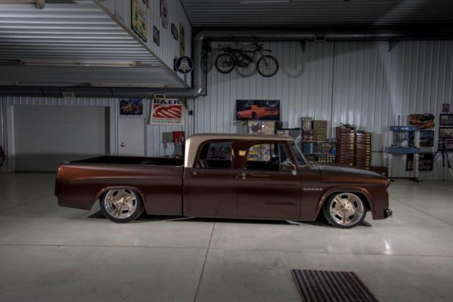 1969 Dodge D200 Crew Cab Whiskeybent Sema Build By Lakeside Rods