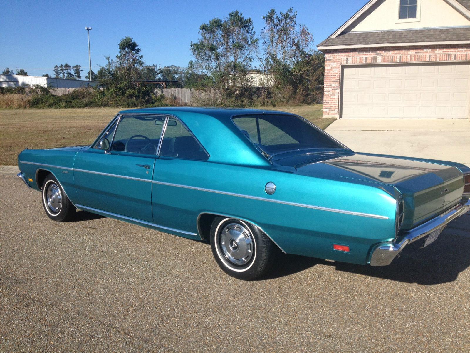 1969 Dodge Dart Custom Special 2 Door Hardtop 53k Miles