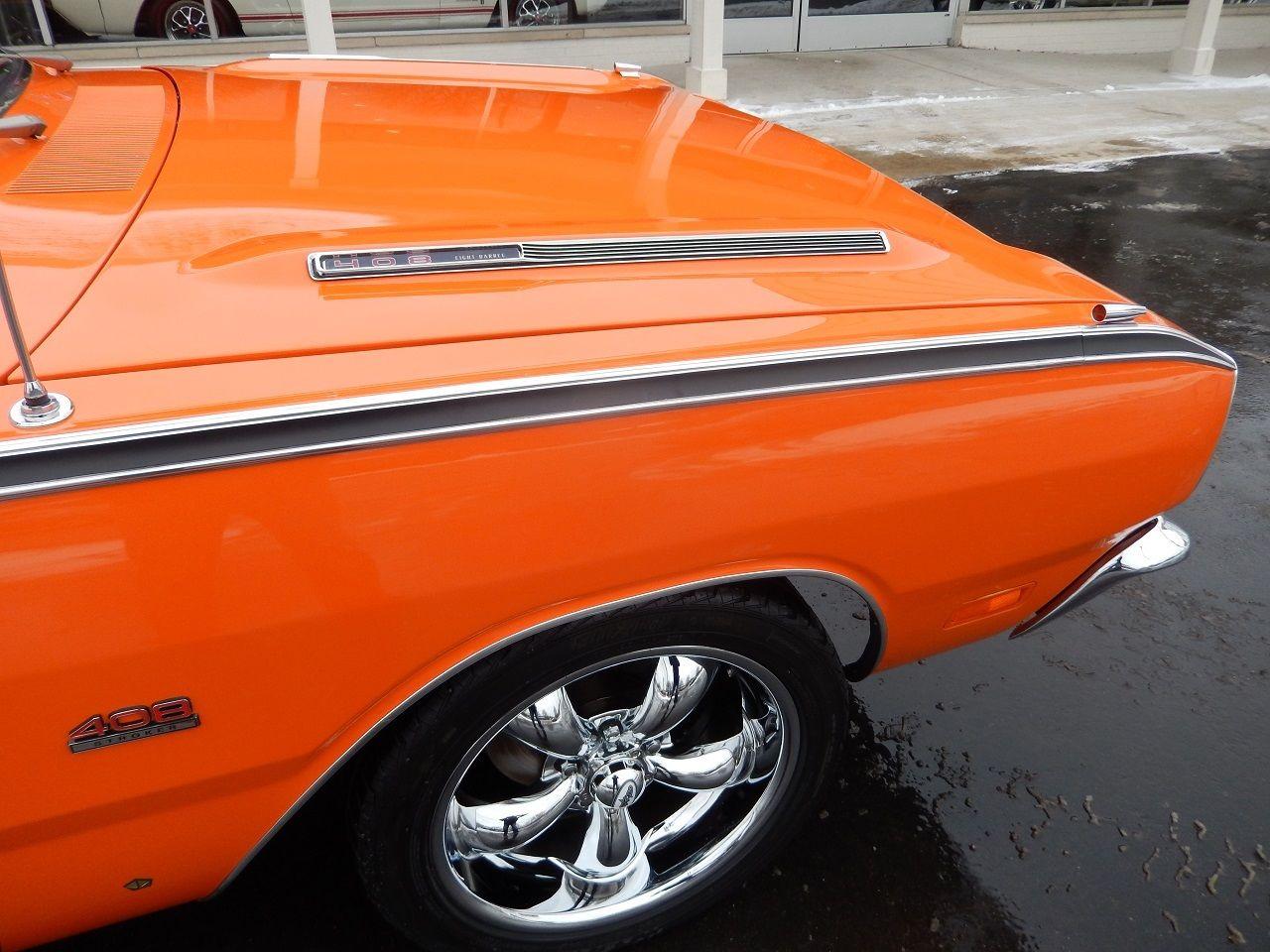 1969 dodge dart gt vitamin c orange 415 ci 544 hp 4 speed disc documented resto classic dodge. Black Bedroom Furniture Sets. Home Design Ideas
