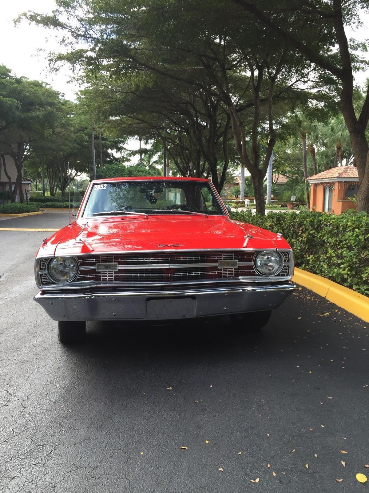 1969 Dodge Charger Rt: 1969 Dodge Dart GTS Hardtop 2-Door 5.6L