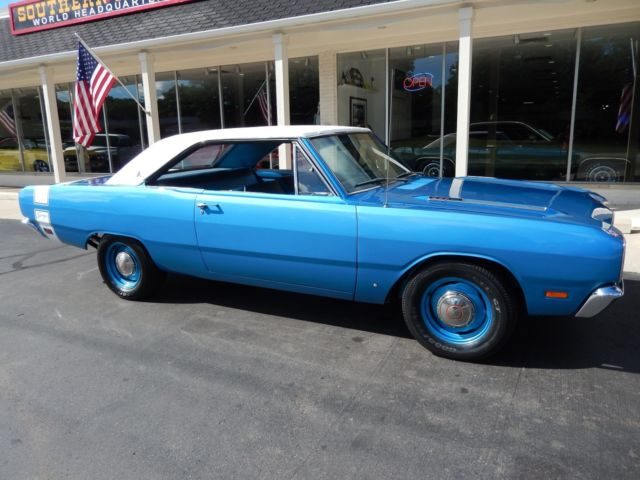 1969 Dodge Dart Swinger Match S 340 4 Speed Rotisserie