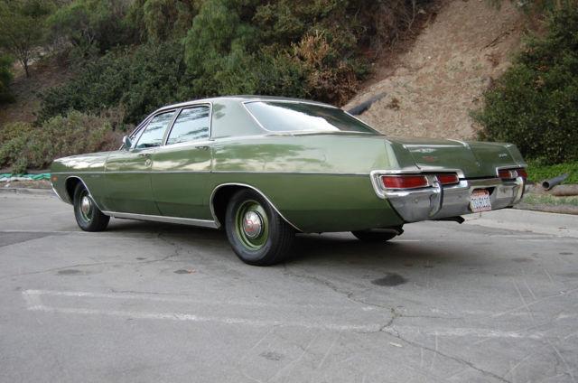 Old Police Cars For Sale >> 1969 Dodge Polara, V8, low miles, AC, survivor,police dog dish,original Mopar - Classic Dodge ...
