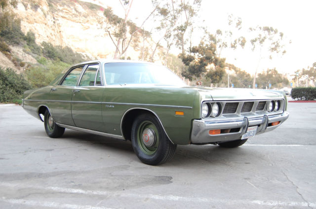 Police Dodge Charger For Sale >> 1969 Dodge Polara, V8, low miles, AC, survivor,police dog dish,original Mopar - Classic Dodge ...