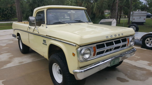 1969 dodge w200 power wagon classic dodge power wagon for Motorized wagon for sale