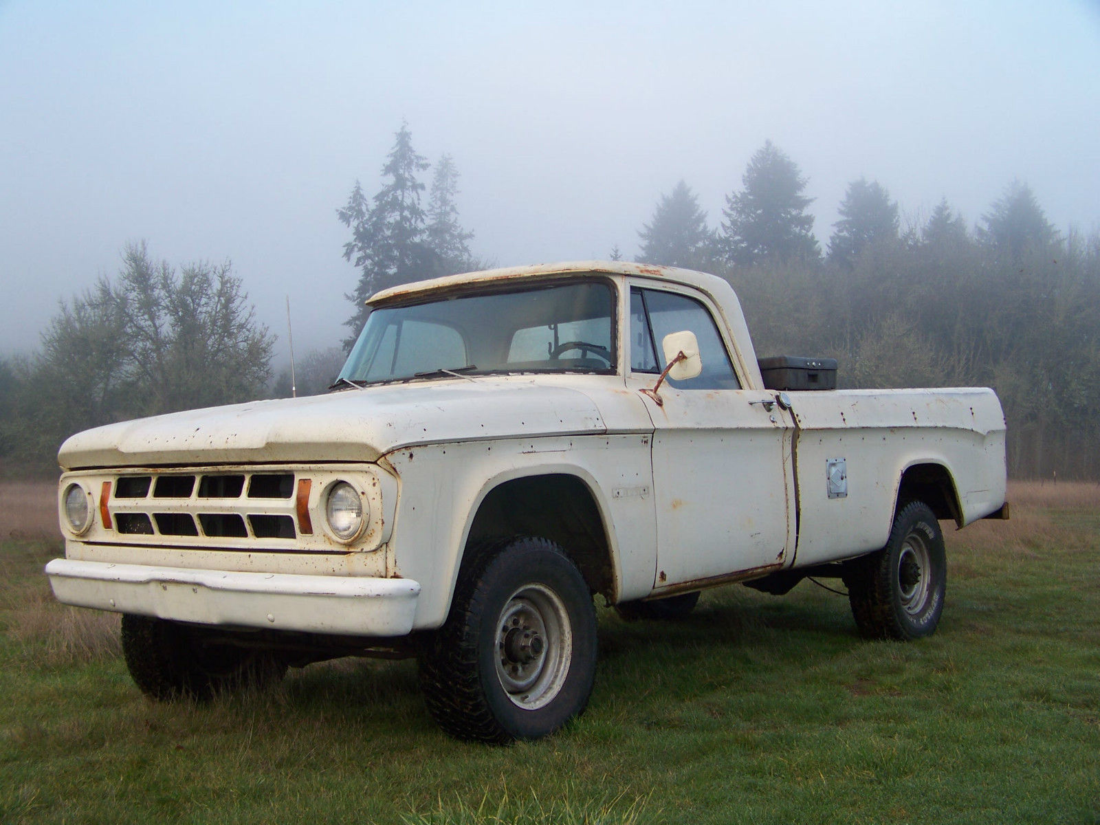 1969 Dodge W200 Power Wagon Factory 383 Four Speed Camper Special 1964 Crew Cab