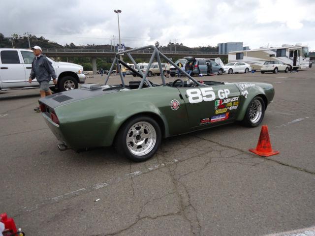 Fiat Race Car Rare Pbs Abarth Solo Champion No Reserve Spider Autox