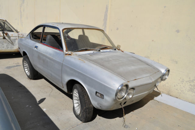 1969 fiat 850 sport coupe winter project car classic fiat 850 sport coupe 1969 for sale - Fiat 850 sport coupe for sale ...
