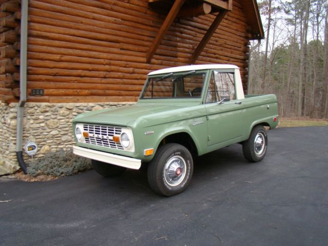 All Wheel Drive Cars With Good Gas Mileage >> 1969 Ford Bronco U14 - Classic Ford Bronco 1969 for sale