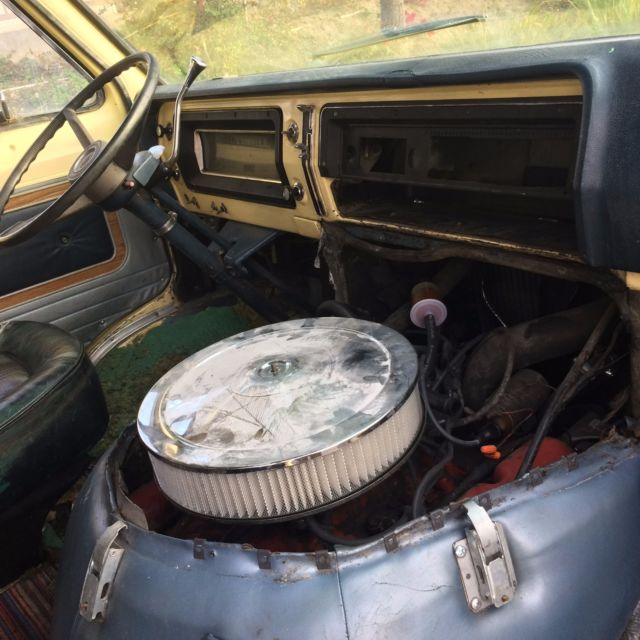 1969 Ford Econoline Chateau 300 **FOR PARTS** - Classic Ford