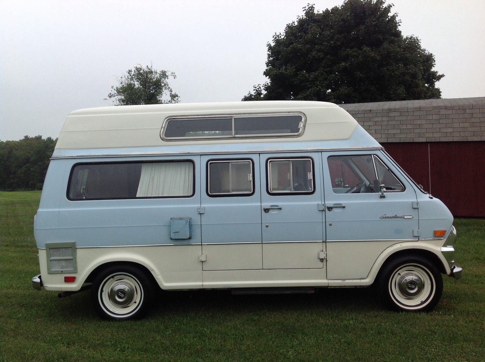 1969 ford econoline super van camper classic ford e. Black Bedroom Furniture Sets. Home Design Ideas