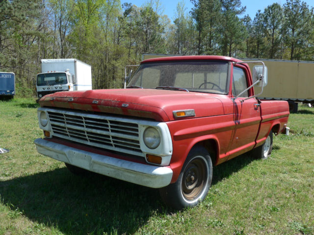 1969 ford f 150 pickup two owners 390 ci v8 engine. Black Bedroom Furniture Sets. Home Design Ideas
