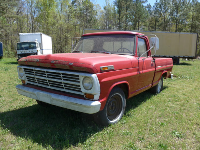 1969 ford f 150 pickup two owners 390 ci v8 engine original condition classic ford f 150 1969. Black Bedroom Furniture Sets. Home Design Ideas