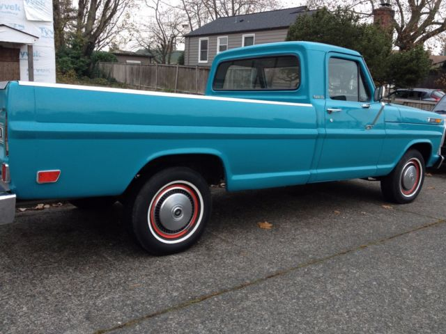 1969 ford f100 custom cab classic ford f 100 1969 for sale. Black Bedroom Furniture Sets. Home Design Ideas