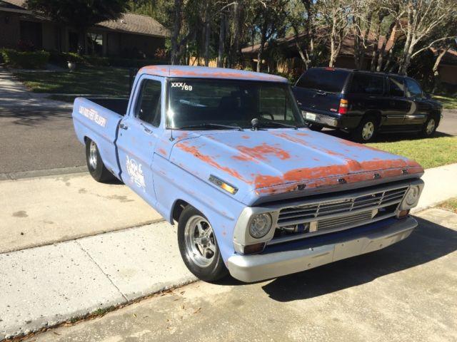 1969 ford f100 twin turbo shop truck