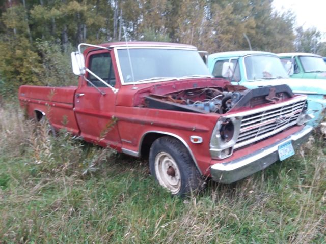 Ford F250 Parts >> 1969 Ford F250 Campers Special Parts Truck Classic Ford F 250 1969