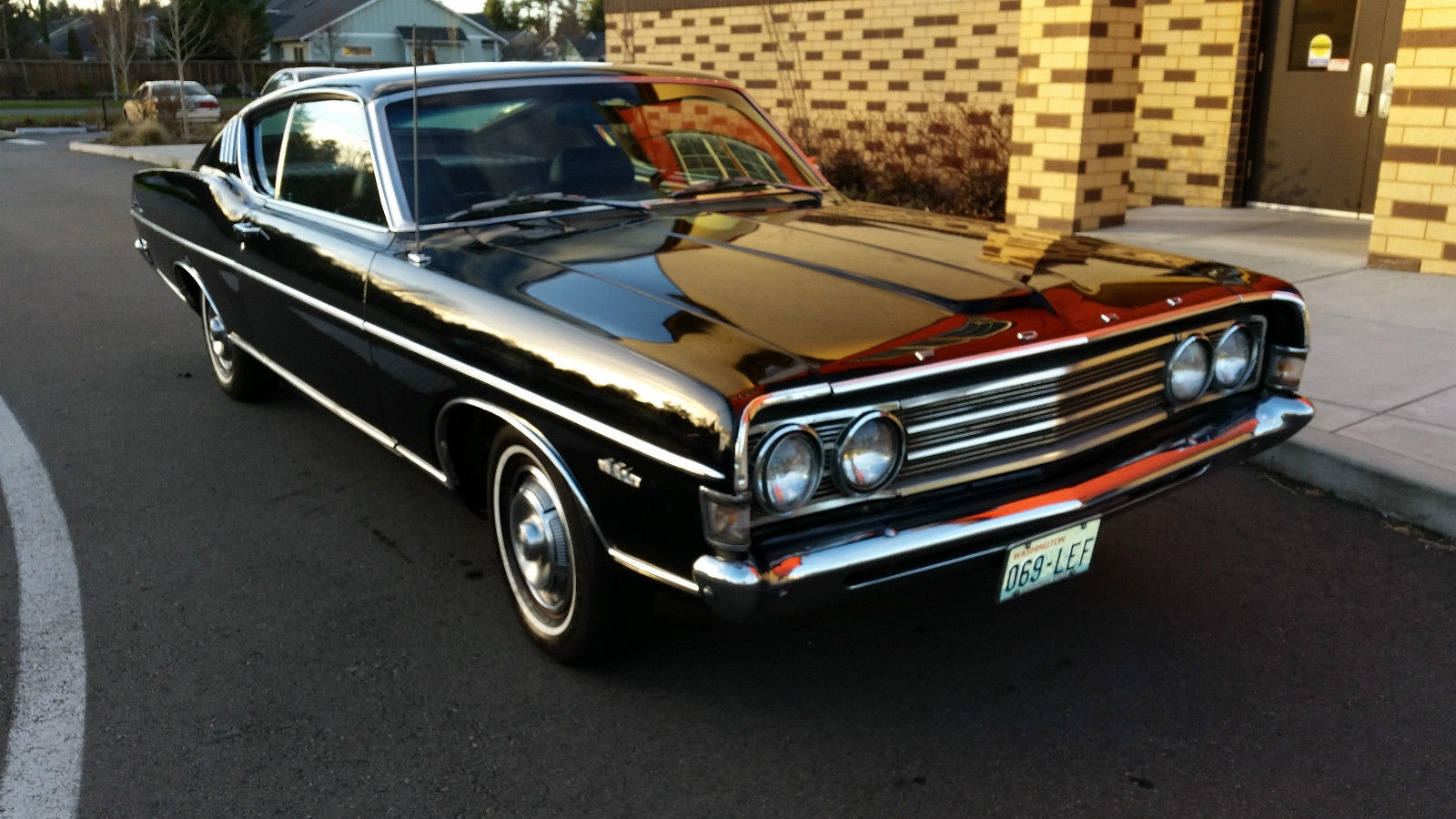 1969 ford fairlane 500 fastback 351 auto must see worldwide no reserve classic ford fairlane. Black Bedroom Furniture Sets. Home Design Ideas