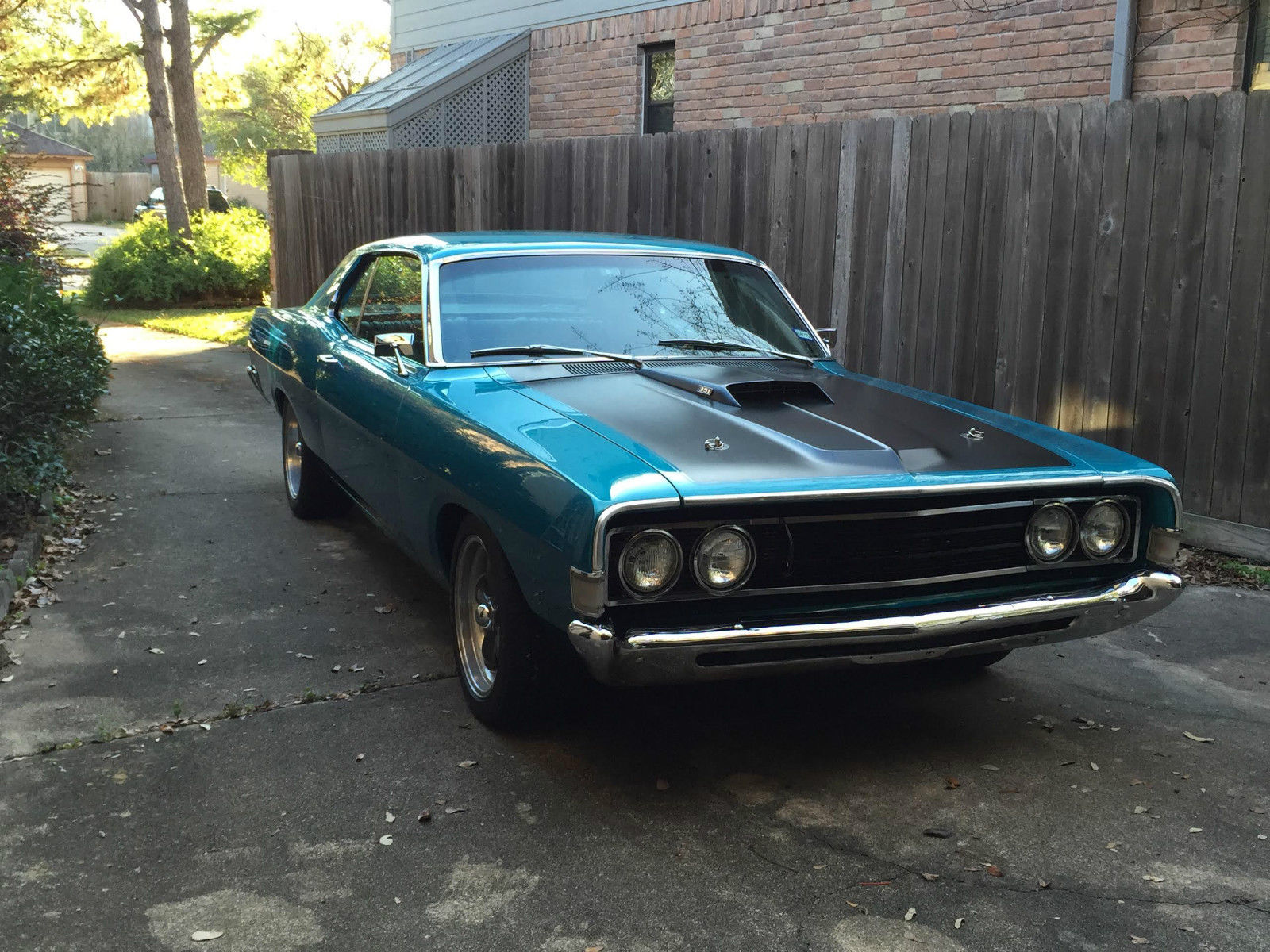 1969 Ford Fairlane 500 With 4697 Miles On Completely Rebuilt Muscle Cars 351 Windsor