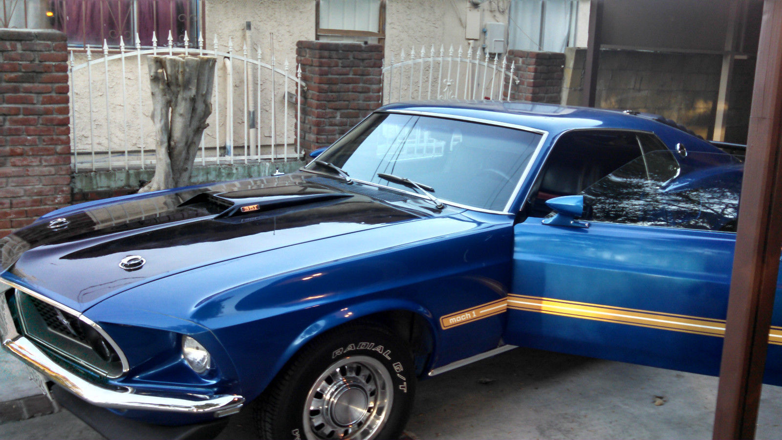 1969 Ford Mustang Base Fastback 2 Door 58l Classic Mach Prevnext