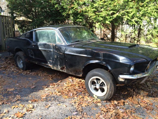1969 ford mustang fastback 302 auto project classic ford mustang 1968 for sale. Black Bedroom Furniture Sets. Home Design Ideas