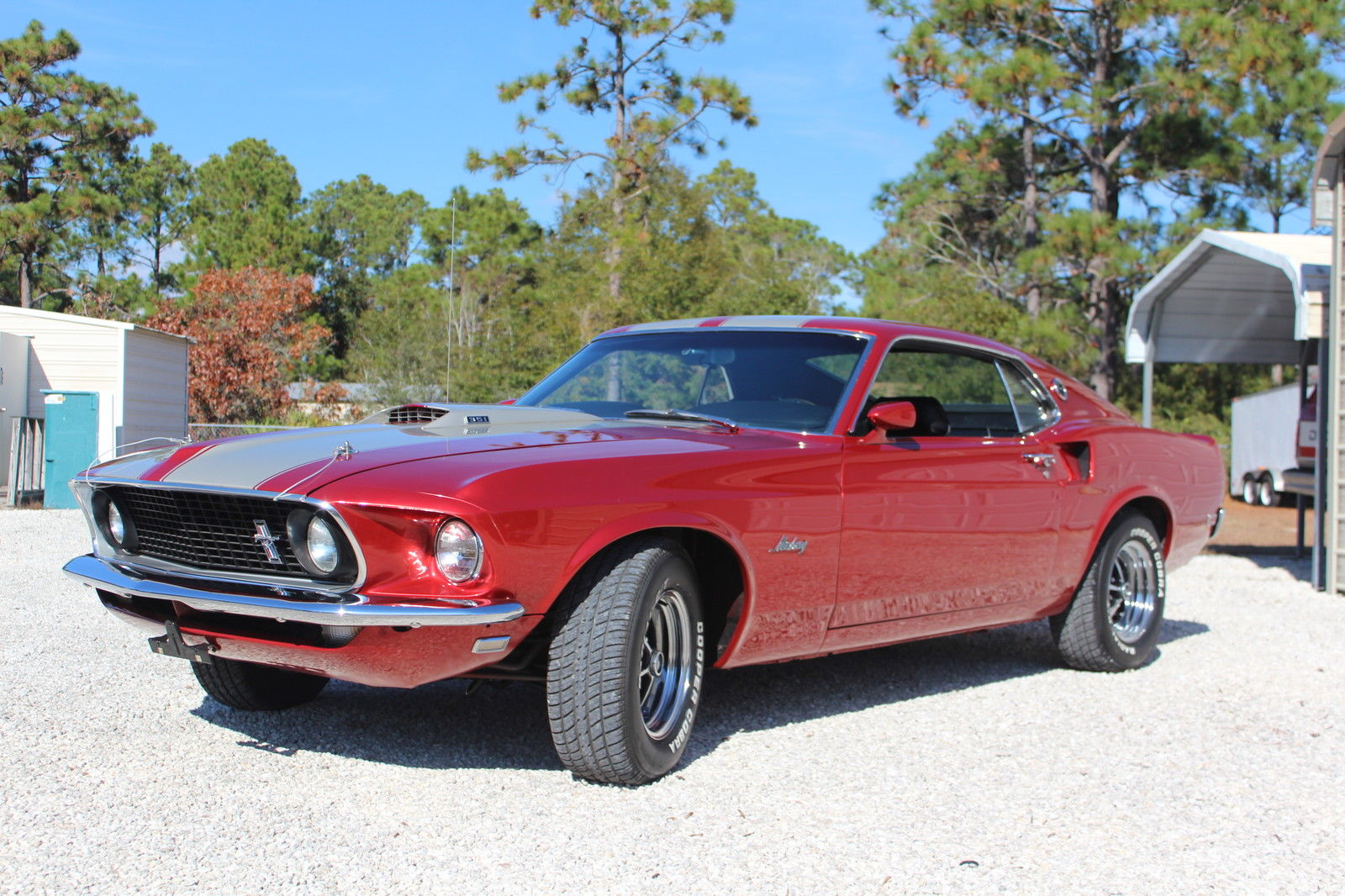 1969 Ford Mustang Gt Fastback Sportsroof Factory M Code