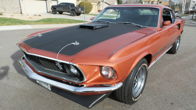 1969 Ford Mustang Mach 1 One 428 Cobra Jet Fastback Rare Gt Classic Ford Mustang 1969 For Sale