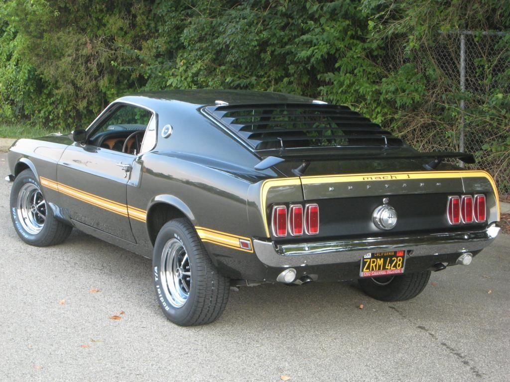 1969 Ford Mustang Mach 1 R Code 428 Cobra Jet Classic Fastback Cj