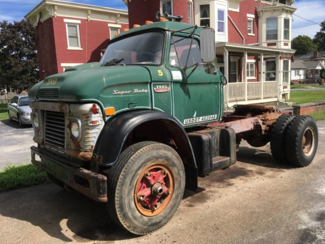 1969 Ford N1000 Vintage Semi Truck Tractor 534 Big Block Air Brakes - Classic Ford Other 1969