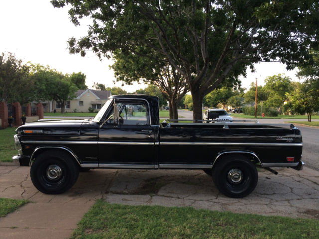 Nada Classic Cars >> 1969 Ford Ranger F250 Camper Special - Classic Ford F-250 ...