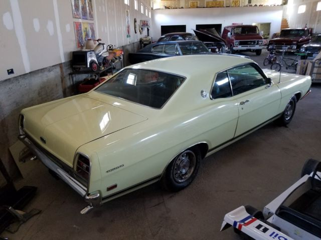 Ford Torino Gt Grand Touring  V Automatic Rust Free Yellow On Black