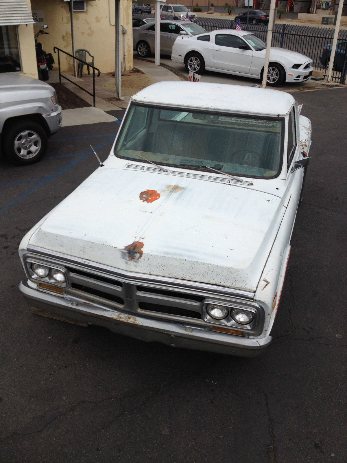 Cars For Sale Los Angeles >> 1969 GMC CHEVROLET SHORT BED PICKUP TRUCK C10 STEP SIDE ORIG. CALIFORNIA TRUCK - Classic ...