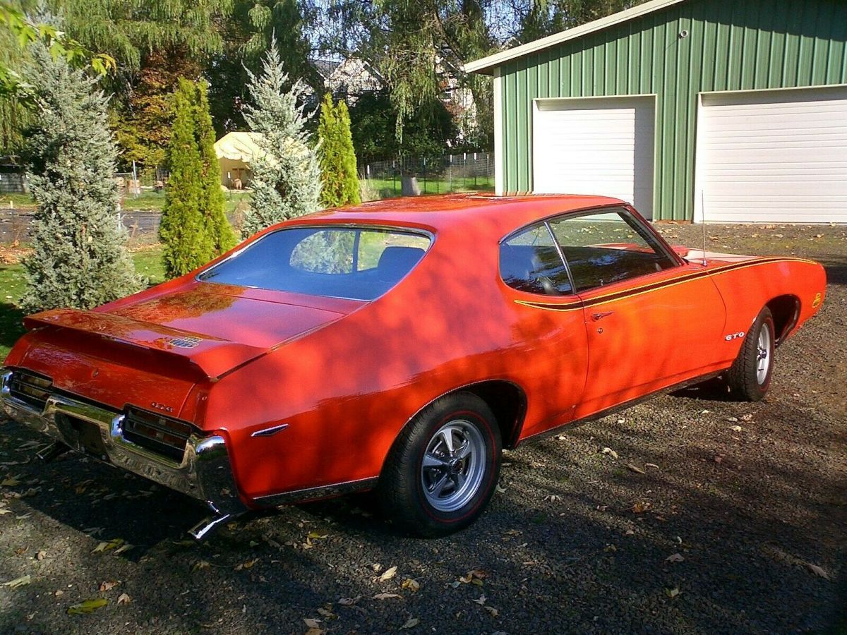 1969 Gto Judge Real Classic Pontiac Gto 1969 For Sale