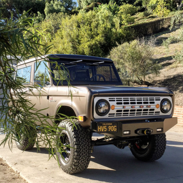 1969 Icon Br 18 Ford Bronco Hard Top Classic Ford Bronco