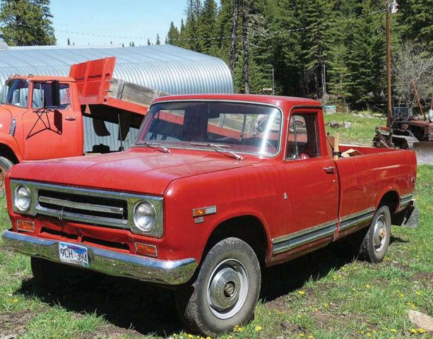 1969 International 1200 4x4 Pickup Classic International